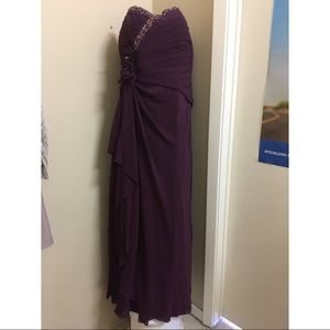 Dresses & Skirts - Purple Floor length dress